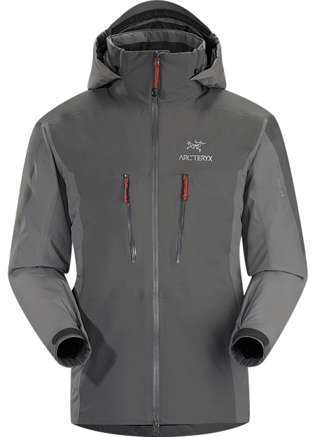 ARCTERYX FISSION SV JACKET MEN'S Anvil Grey