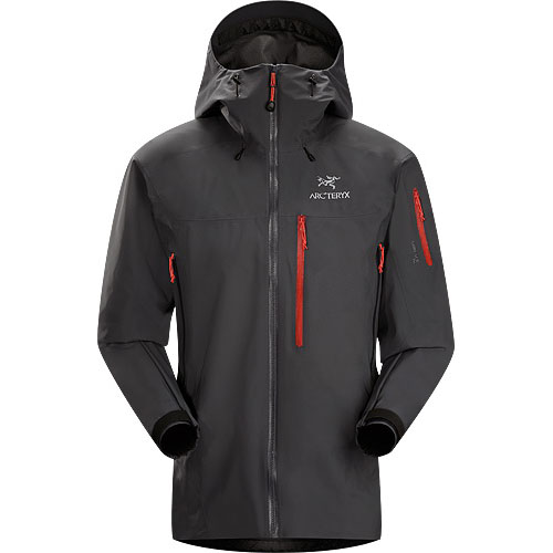 ARCTERYX ESSENTIALS Theta SVX Jacket Mens Carbon Copy
