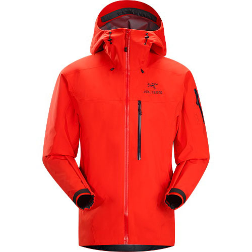ARCTERYX ESSENTIALS Theta SVX Jacket Mens Chipotle