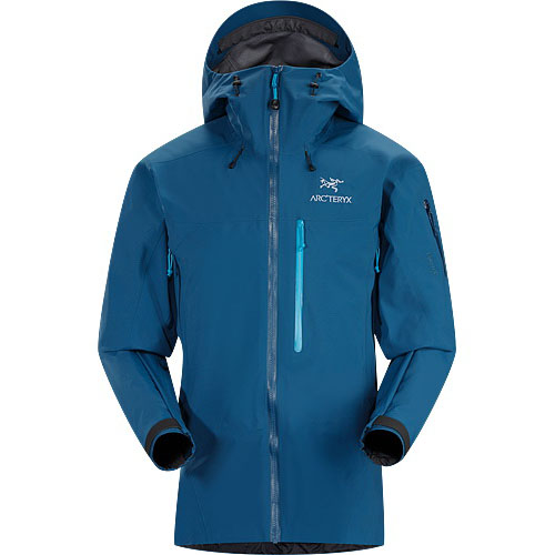 ARCTERYX ESSENTIALS Theta SVX Jacket Mens Poseidon