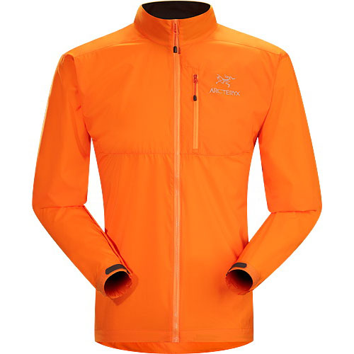ARCTERYX ESSENTIALS Squamish Jacket Mens Masago