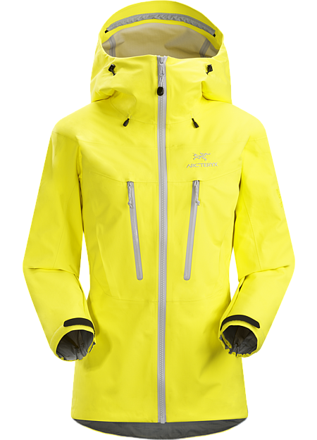ARCTERYX ALPHA SV JACKET Lemon Zest