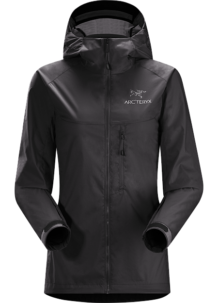 ARCTERYX SQUAMISH HOODY WOMEN'S Black
