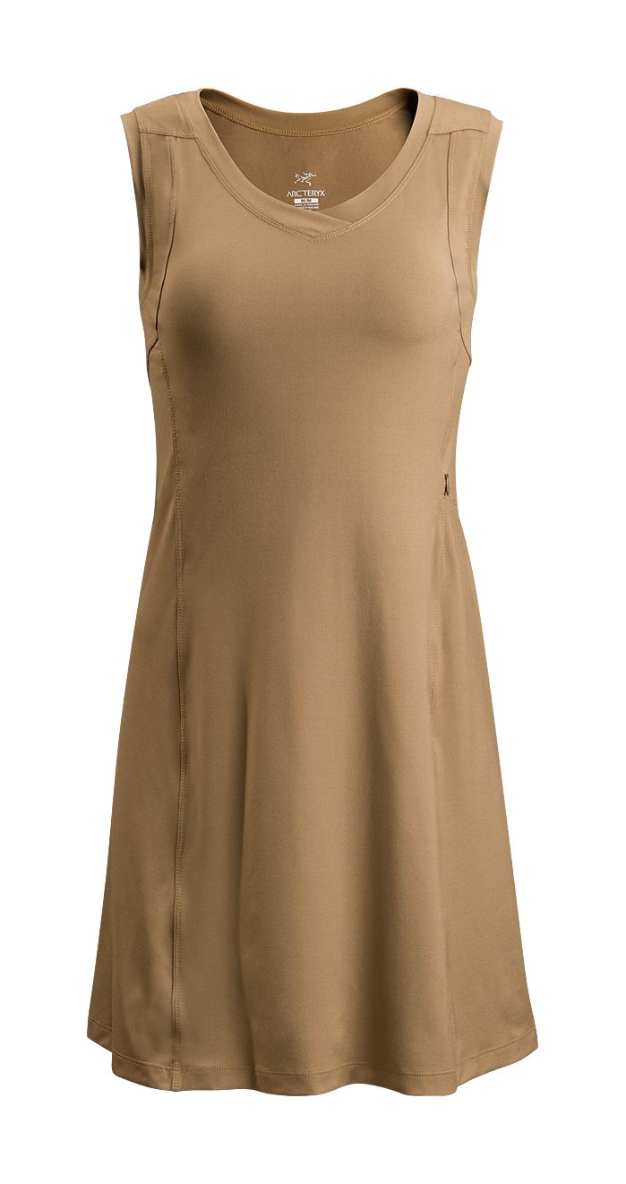 Arcteryx Nubian Brown Soltera Dress - New