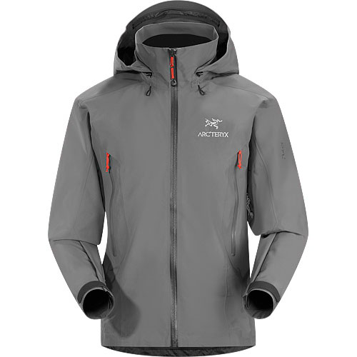 ARCTERYX ESSENTIALS Beta AR Jacket Mens Anvil Grey
