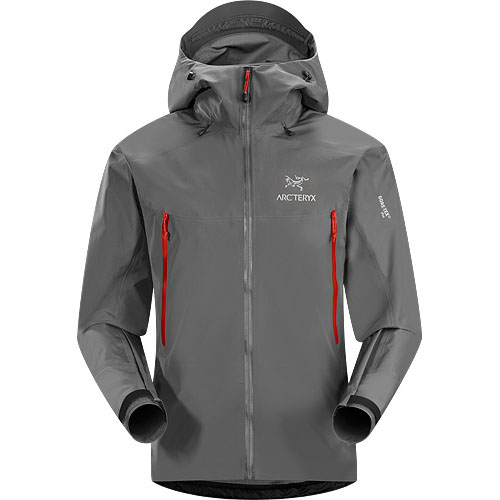 ARCTERYX ESSENTIALS Beta LT Jacket Mens Iron Anvil