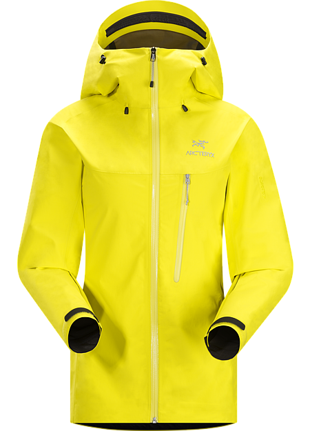 ARCTERYX ALPHA SL JACKET Lemon Zest